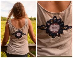 Upcyled Clothing  Hippie summer festival women by acornolyphant, $52.00