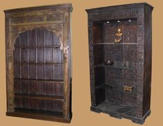 Solid Wood Bookcases - VisualizeUs Bookcases, Tall Cabinet Storage, Solid Wood, Libraries, Bookshelves, Book Shelves