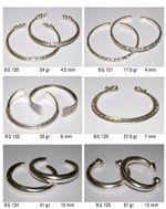 hill tribe silver bangles catalog