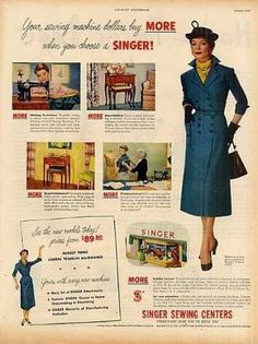 Singer Sewing Machine (1950)