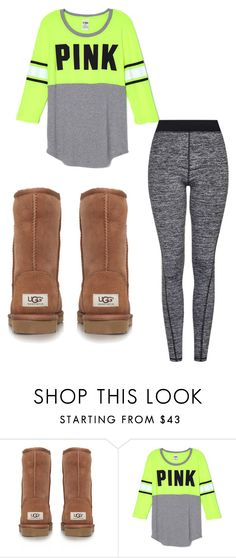 """GM good morning"" by daydreammmm800 ❤ liked on Polyvore featuring interior, interiors, interior design, home, home decor, interior decorating, UGG Australia and Topshop"