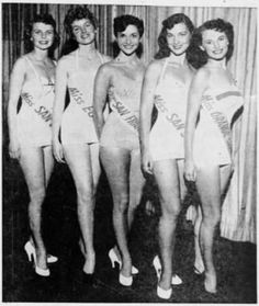 Miss California Pageant 1954