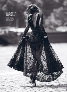 visual optimism; fashion editorials, shows, campaigns & more!: modern couture: daniela de jesus by benjamin kanarek for elle vietnam october 2014