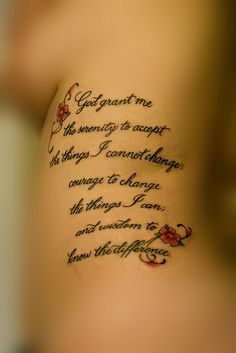 pinterest tattoos for women serenity prayer | Recent Photos The Commons Getty Collection Galleries World Map App ...