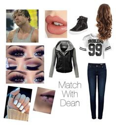 Tag team with your boy Dean by briruiz on Polyvore featuring polyvore, fashion, style, J.TOMSON, Anine Bing, Rebecca Minkoff and Charlotte Tilbury