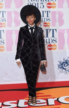 Pin for Later: Janelle Monáe's Signature Style Is Nothing to Mess With