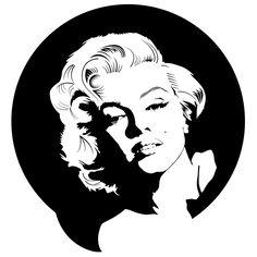 Marilyn Monroe Portrait Vector EPS Free Download, Logo, Icons ...