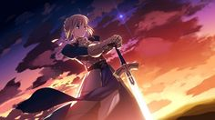 Fate Stay Night Saber HD & Widescreen