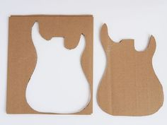 How to make a DIY Cardboard Guitar: Step 1