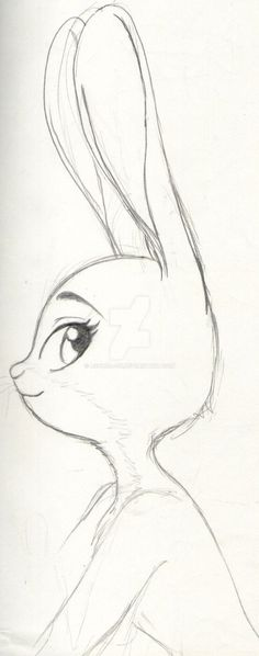 Drawing of judy