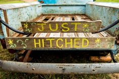 Just Hitched Sign