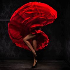 Danseuse de flamenco
