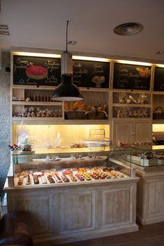 Cuatro propuestas y estilos diferentes para decorar una cafetería-panadería