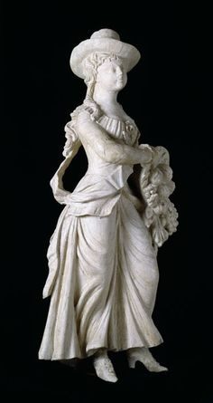 Pomona: Figure of Plenty, Simeon Skillin Jr. (1756–1806), Boston, 1793, wood, paint