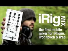 This seems fun! DJ Rig is a full-featured, double-deck DJ mixing app for iPhone. It provides instant song-playing from the device's music library, automatic tempo sync and beat match, sample-based pads and performance recording, plus an arsenal of high-quality DJ effects.