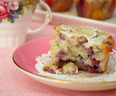 Raspberry Coconut Muffins (Low Carb and Gluten Free) | All Day I Dream About Food
