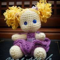 Little Lexi Crochet Doll Pattern - via @Craftsy
