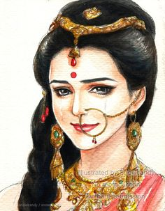 Whenever you make a woman to cry.you are opening a door for your destruction. Indian Women Painting, Indian Art Paintings, Oil Paintings, Indian Drawing, Krishna Pictures, Indian Folk Art, Krishna Art, Hindu Art, Art Drawings Sketches
