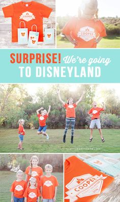 Surprise! We're Going to Disneyland! - simple as that