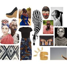 """""""Africa"""" by mariana-l on Polyvore"""