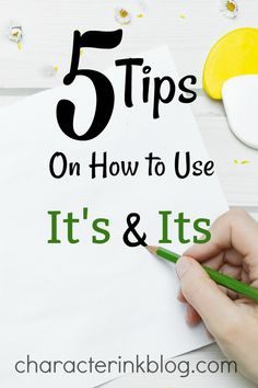 """Confused about how to use """"Its"""" and """"It's""""? Scroll through this quick and helpful slideshow about properly using these two confusing words!"""