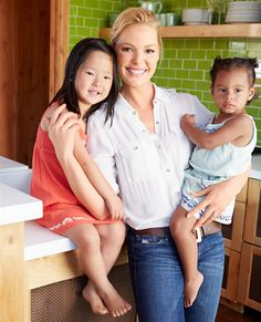 "Katherine Heigl found much success on ABC's ""Grey's Anatomy,"" but decided to leave the show to spend more time with her husband Josh Kelley and their two adopted daughters Naleigh and Adalaide. She chatted with Good Housekeeping about putting her family first as a working mom, why she decided to adopt and more in the mag's September issue. Pick it up on newsstands Aug.12, and keep clicking to read more! RELATED: More from the Katherine Heigl cover story in Good ..."