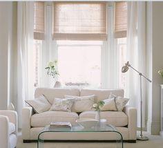 Captivating White Living Room
