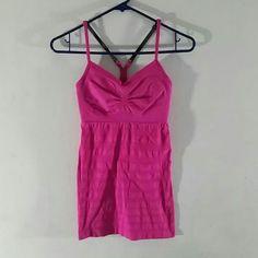Lululemon Seamless Tank Pink Size 4