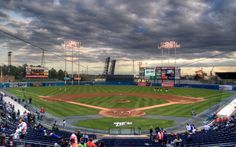Take the Tide from Riverview Lofts to see the Norfolk Tides play ball! Norfolk Tides, Harbor Park, America's Pastime, Old Dominion, Hampton Roads, Life Is An Adventure, Virginia Beach, Home And Away, Night Life
