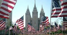 "http://facebook.com/pages/Temples-of-The-Church-of-Jesus-Christ-of-Latter-day-Saints/163927770338391 What a remarkable blessing it is to live in the United States of America! We have so much to be grateful for. We truly savor freedoms unequaled anywhere in the world. ""To live in a land in which each individual has the right to life and liberty is a glorious privilege."" –David O. McKay"