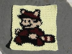 This is just the chart for a square to complete my Nintendo Blanket. This blanket square was inspired by Alicia1018's GamerGhan.