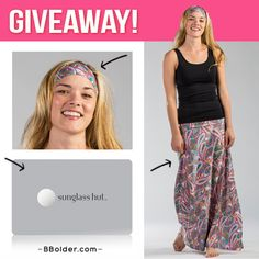--- WIN! ---<br>- Pink Paisley Skirt<br />  - Pink Paisley Bolder Band<br />  - $100 Sunglass Hut Gift Card<br />  ($193 Value!)