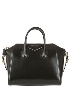 691c505b6af9 Black Leather Tote Bag by Givenchy. Buy for  2