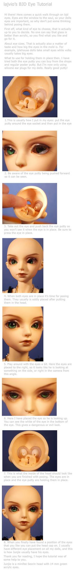 BJD Eye Tutorial by lajvio