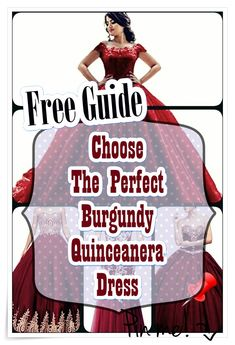 Quinceanera Guide - Burgundy Quinceanera Dresses In Autumn Shades. Pick out one of these Burgundy quinceanera dresses for your big day! Quince Dresses, 15 Dresses, Cute Dresses, Burgundy Quinceanera Dresses, Quinceanera Party, Our Girl, Guide Book, Big Day, How To Memorize Things