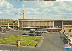 Station Eindhoven (jaartal: 1960 tot 1970) - Foto's SERC Eindhoven, Facade, City, Building, Places, Travel, Ww2, Shell, Lifestyle