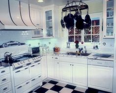 Choosing Right Furniture in Kitchen Ideas for Small Kitchen: Elegant Small Kitchen Designs With White Cabinet ~ Kitchen Inspiration