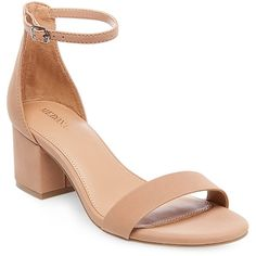 1f90e54d2a6 Women s Marcella Low Block Heel Pumps with Ankle Straps - Tan 10  .