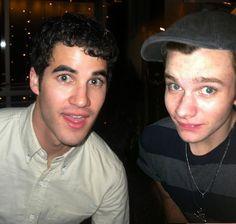 Darren Criss and Chris Colfer