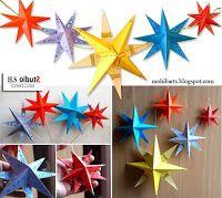 Bri-coco de Lolo: Étoiles en papier