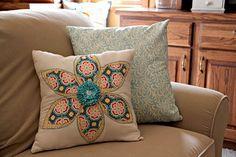 Super cute homemade pillows!