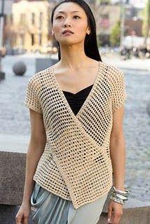 crochet vest- lots of vest patterns