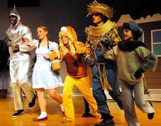 THE WIZARD OF OZ!  Easy, affordable, perfect for beginning teachers to direct!  Always a smashing success for schools!