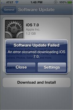 The eagerly anticipated release of iOS 7.0 finally arrived on Wednesday; however the new-look operating system has got off to a rocky start....