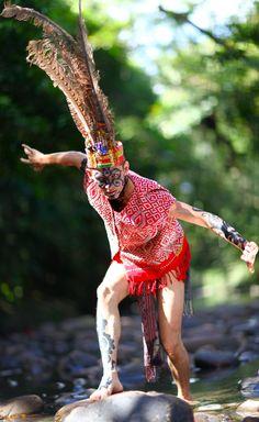 Dayak man, Borneo