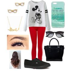 Untitled #72 by skohler0960 on Polyvore featuring polyvore fashion style Paige Denim Vans JAY. M Kate Spade Minnie Grace Ray-Ban