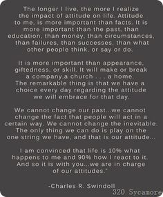 2012: it's all about attitude!