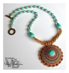 Treasures of the Pharaoh necklace  * like the beading into stone