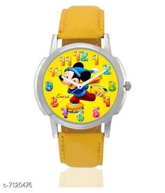 Watches Excel Premium Quality  Watches for  Boys & Girls Strap material: Rubber Display: Analogue Multipack: 1 Sizes:  Free Size Country of Origin: India Sizes Available: Free Size   Catalog Rating: ★4.2 (483)  Catalog Name: Excel Premium Quality Watches for Boys & Girls CatalogID_1136660 C63-SC1197 Code: 422-7120476-
