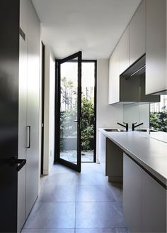 Home Design Inspiration Kitchen Open Concept 21 Ideas For 2019 Laundry Doors, Laundry Chute, Laundry In Bathroom, Small Laundry, Laundry Closet, Laundry Tips, Laundry Cupboard, Laundry Cabinets, Laundry Storage